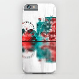 Geneva Switzerland Skyline iPhone Case
