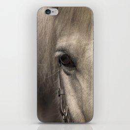 Horse look iPhone Skin