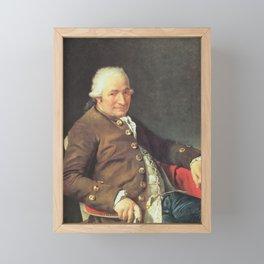 Jacques-Louis David - Charles-Pierre Pécoul Framed Mini Art Print