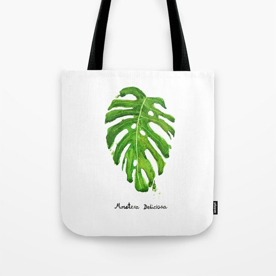 Monstera Deliciosa Tote Bag