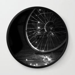 Hope in the Spokes Wall Clock