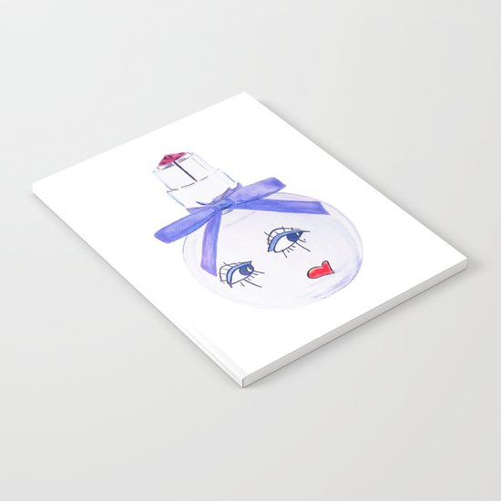 Pretty Face Parfum Notebook