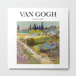 Van Gogh - Garden at Arles Metal Print