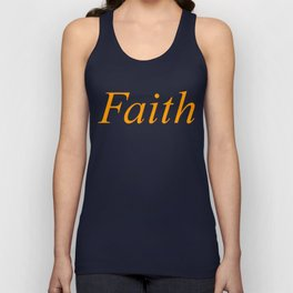 Faith Unisex Tank Top