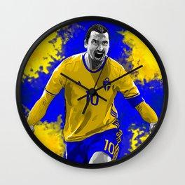 Zlatan Ibrahimovic - Sweden Wall Clock