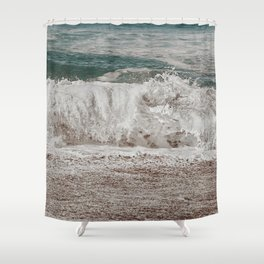 Washed off dreams Shower Curtain