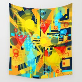 Sunny day at the beach Wall Tapestry