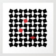 El Batha Pattern Art Print