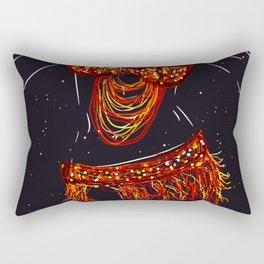 Belly Dancing Rectangular Pillow