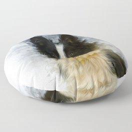 Border Collie Floor Pillow