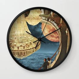 Balcony of Dreams Wall Clock