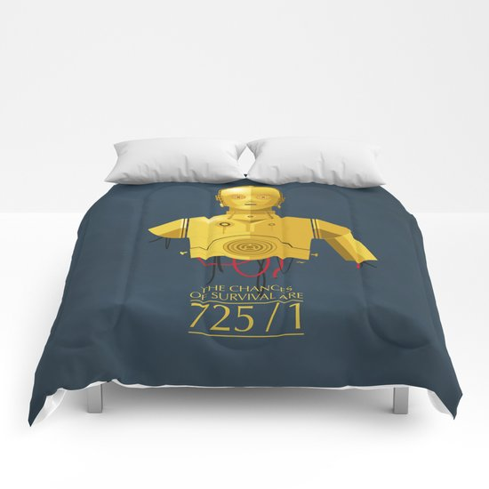 Never Tell Me The Odds (C3P0) Comforters