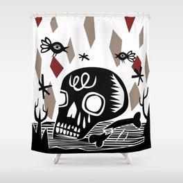 Crânio Shower Curtain