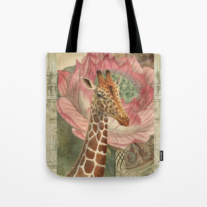 One Chuffed Giraffe Tote Bag