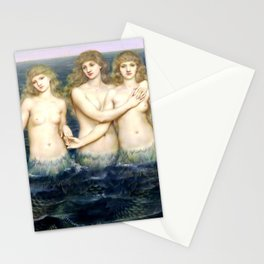"""Evelyn De Morgan """"The Sea Maidens"""" Stationery Cards"""