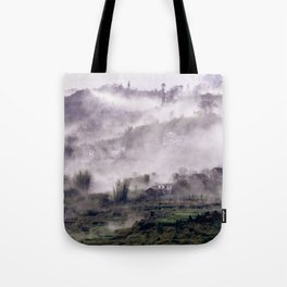 FOGGY FOREST in the VIETNAMESE MOUNTAIN Tote Bag