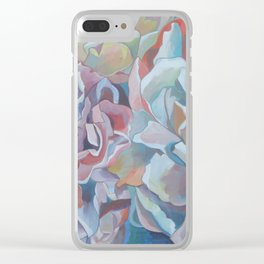 """Made to Bloom"" Clear iPhone Case"