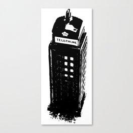 British Booth Canvas Print