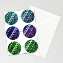 Purple Universe Glasses Stationery Cards