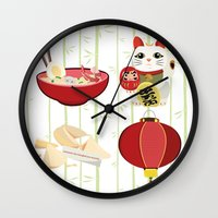 japanese Wall Clocks featuring japanese by Kozza