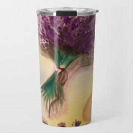 Lavender Feild Travel Mug