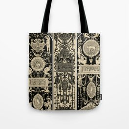 Renaissance pattern from L'ornement Polychrome (1888) by Albert Racinet Tote Bag