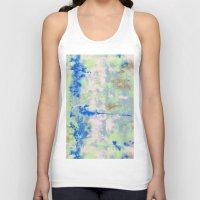 tie dye Tank Tops featuring Tie Dye by Wendy Ding: Illustration
