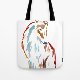For the Love of Collie Tote Bag