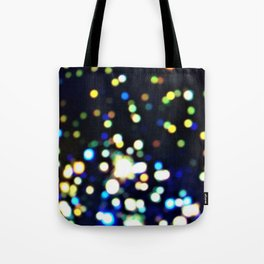Twinkly starry night texture Tote Bag