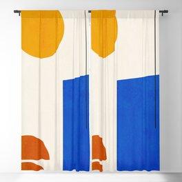 Minimal Geometric Shapes 64 Blackout Curtain