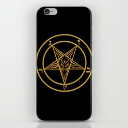 Courting Baphomet iPhone Skin