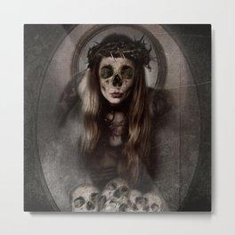 Ave Plague Metal Print