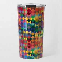 P1: Sunset Diamonds Travel Mug