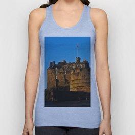 Edinburgh Castle Unisex Tank Top