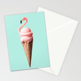 FLAMINGO CONE Stationery Cards