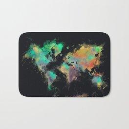 world map 107 #worldmap #map Bath Mat