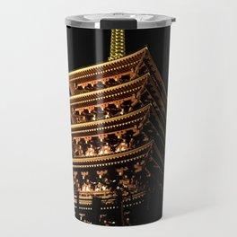 Buddhist Temple Travel Mug