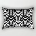 Black and White Art Deco Pattern by antiqueimages