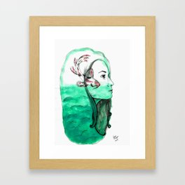 Koi Feelings Framed Art Print