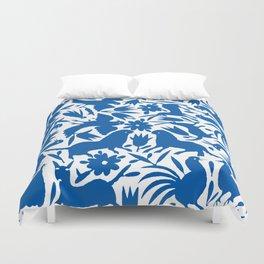 otomi blue Duvet Cover