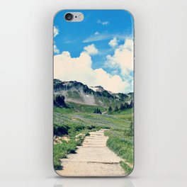 Up Mount Rainier iPhone Skin