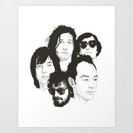 THE STROKES Art Print