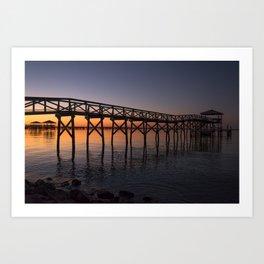 Louisiana Sunrise Art Print