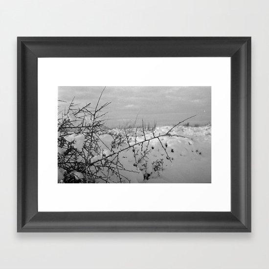 Strained Framed Art Print