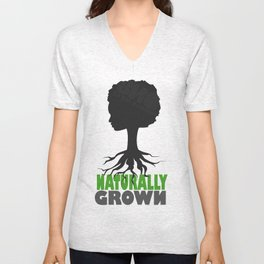 naturally grown Unisex V-Neck