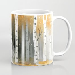 Autumn Wolf Coffee Mug