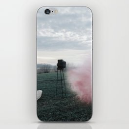 Watch the old you disappearing iPhone Skin