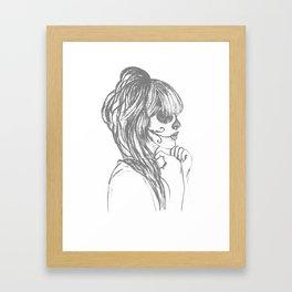 Prima Framed Art Print