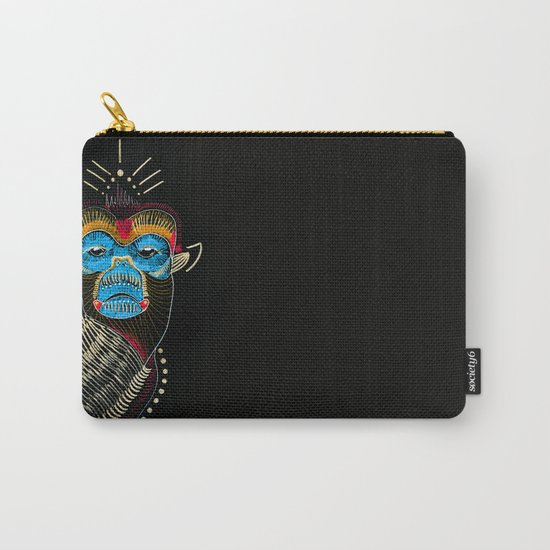 Color me Monkey Carry-All Pouch