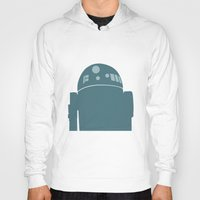 r2d2 Hoodies featuring R2D2 by olive hue designs